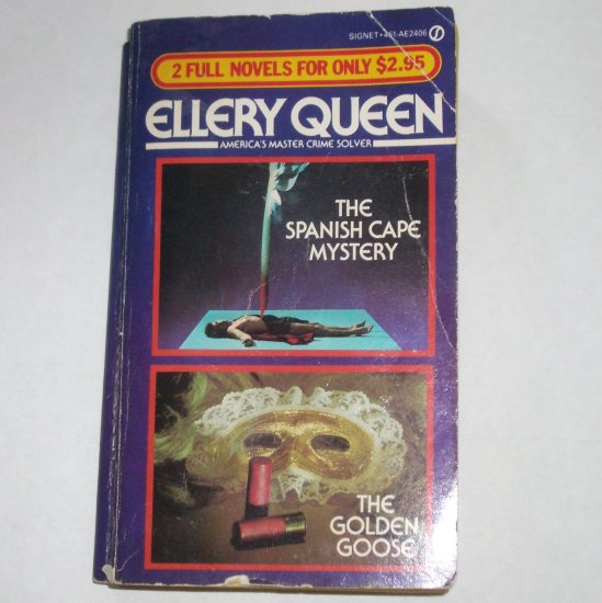 ELLERY QUEEN 2-in-1 The Spanish Cape Mystery & The Golden Goose 1983