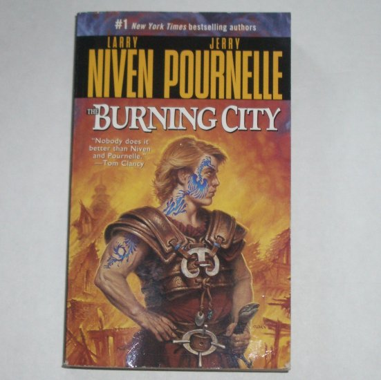The Burning City by LARRY NIVEN & JERRY POURNELLE Paperback 2001
