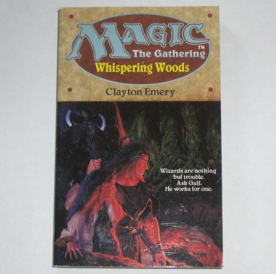 Whispering Woods by CLAYTON EMERY Magic the Gathering Paperback 1995