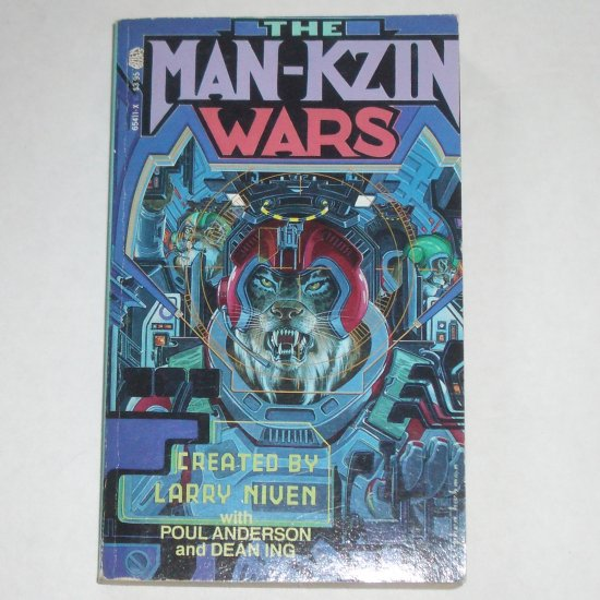 The Man-Kzin Wars by LARRY NIVEN, POUL ANDERSON, DEAN ING Paperback 1988