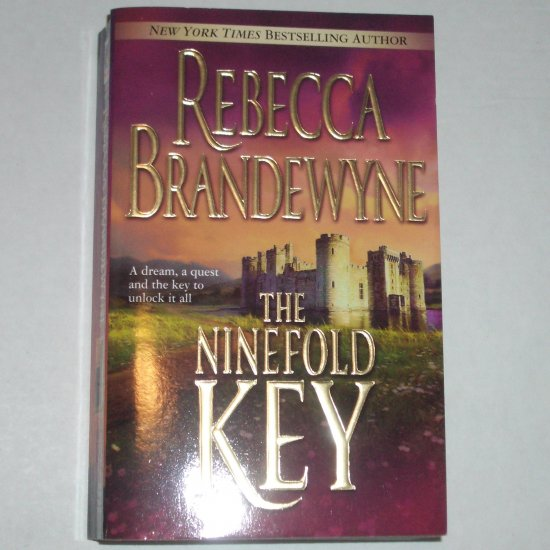 The Ninefold Key by REBECCA BRANDEWYNE Historical Gothic Romance 2004