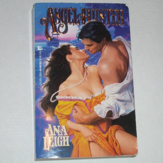 Angel Hunter by ANA LEIGH Historical Western Romance Paperback 1992