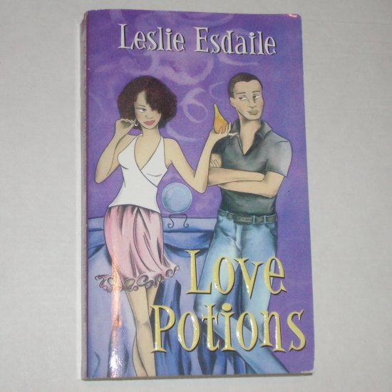 Love Potions by LESLIE ESDAILE Romance 2002 Signed by Author Arabesque Series