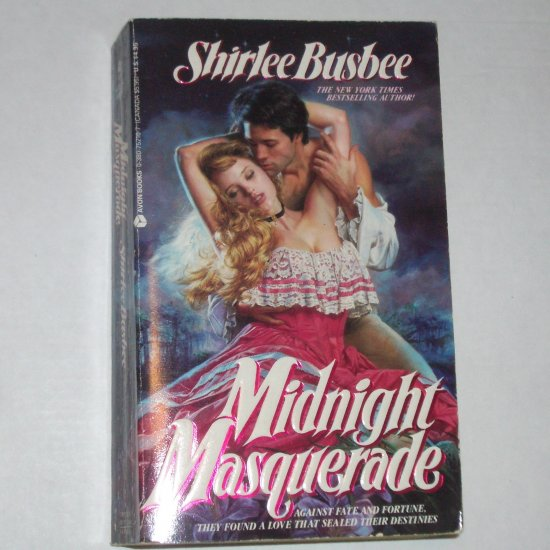 Midnight Masquerade by SHIRLEE BUSBEE Historical Revolutionary War Romance 1998