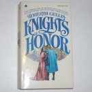 Knight's Honor by ROBERTA GELLIS Historical Medieval Romance 1976