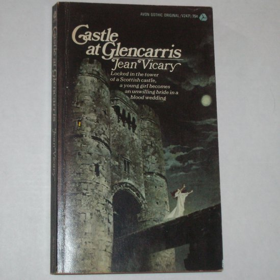 Castle at Glencarris by JEAN VICARY Vintage Gothic Thriller 1972