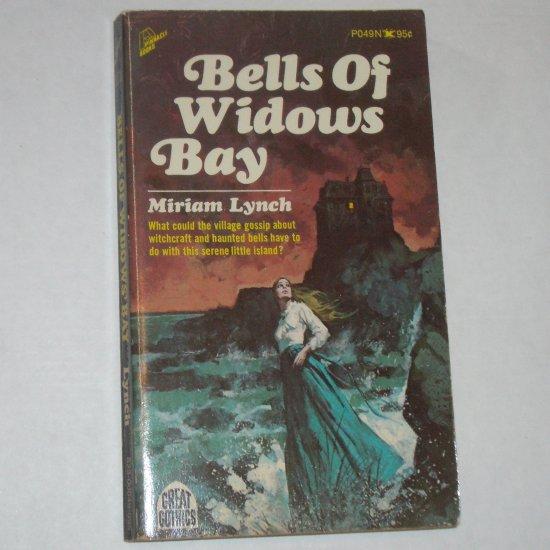 Bells of Widows Bay by MIRIAM LYNCH Vintage Gothic Romance 1971