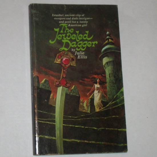 The Jeweled Dagger by JULIE ELLIS 1973 Gothic Romance