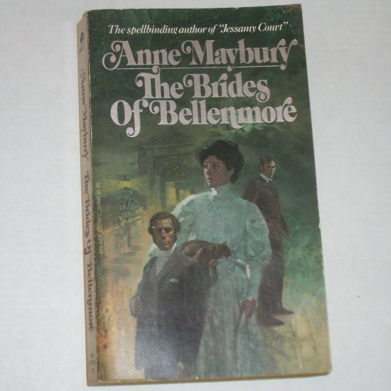 The Brides of Bellenmore by ANNE MAYBURY Vintage Gothic 1964