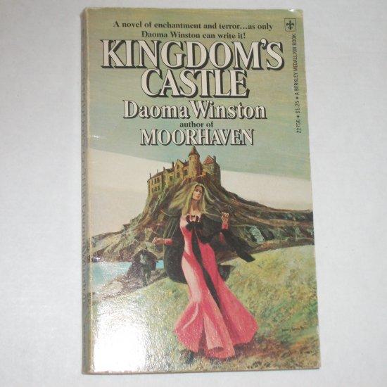 Kingdom's Castle by DAOMA WINSTON Gothic Romance 1975