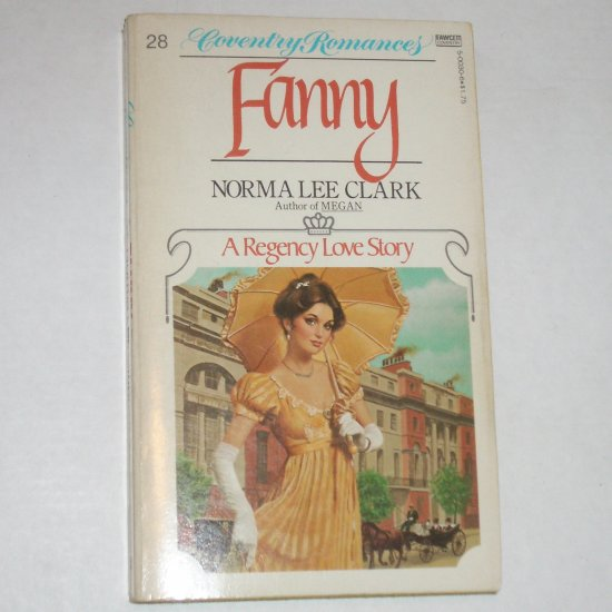 Fanny by NORMA LEE CLARK Regency Romance Coventry #28 1980