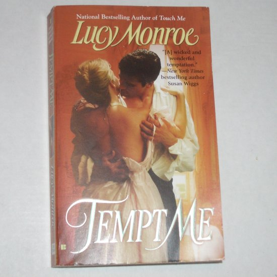 Tempt Me by LUCY MONROE Historical Romance 2006