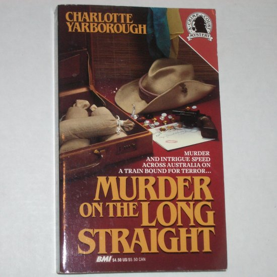 Murder on the Long Straight by CHARLOTTE YARBOROUGH 1979 A Crime Court Mystery