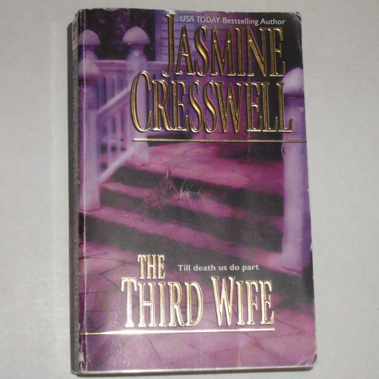 The Third Wife by JASMINE CRESSWELL Romantic Suspense 2002