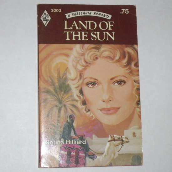 Land of the Sun by NERINA HILLIARD Vintage Harlequin Romance #2003 1976