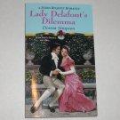Lady Delafont's Dilemma by DONNA SIMPSON Zebra Regency Romance 2000 New
