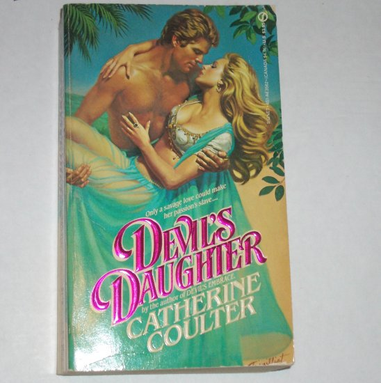 Devil's Daughter by CATHERINE COULTER Historical Exotic Romance 1985