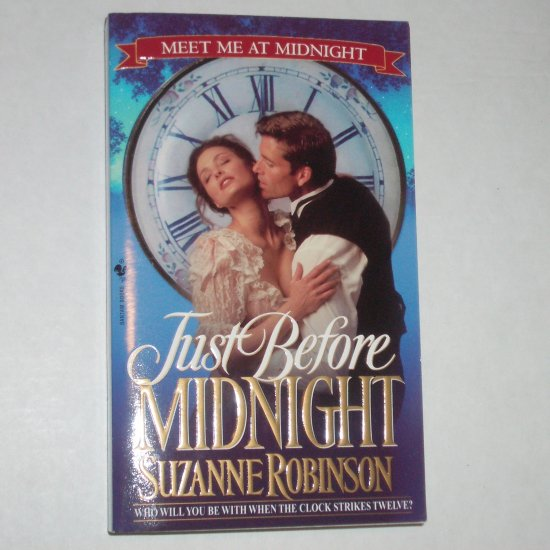 Just Before Midnight SUZANNE ROBINSON Historical Edwardian Romance 2000 Meet Me At Midnight Series