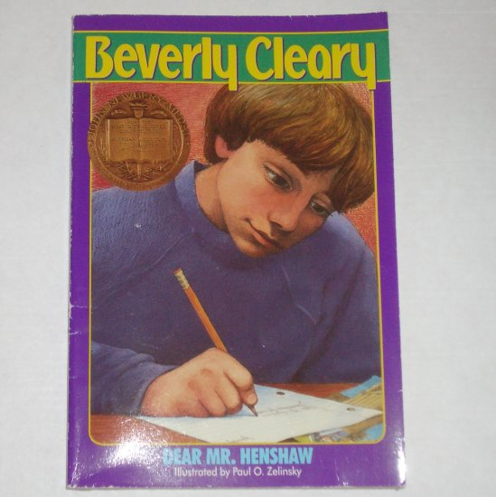Dear Mr. Henshaw by BEVERLY CLEARY 1994 Newbery Medal Winner