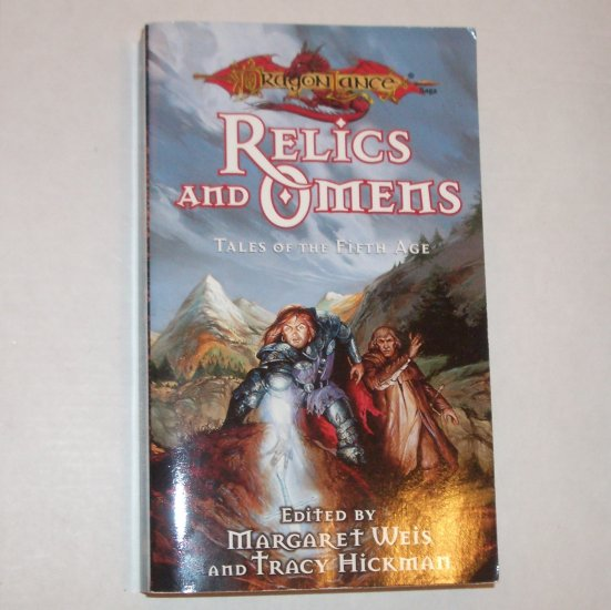 Relics and Omens Tales of the Fifth Age DragonLance by Margaret Weis, Tracy Hickman 1998