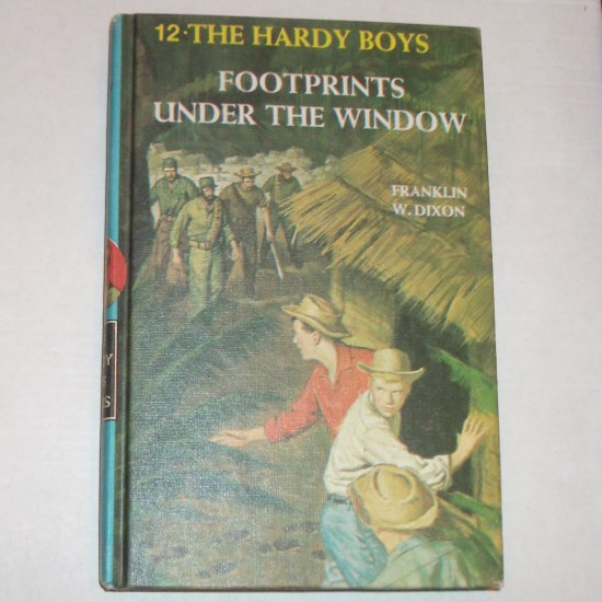 Footprints Under the Window by FRANKLIN W DIXON The Hardy Boys Hardback