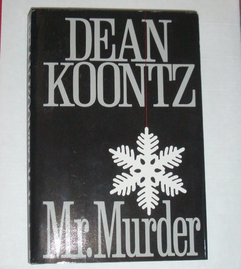 Mr. Murder by Dean Koontz Hardcover with Dust Jacket  1993