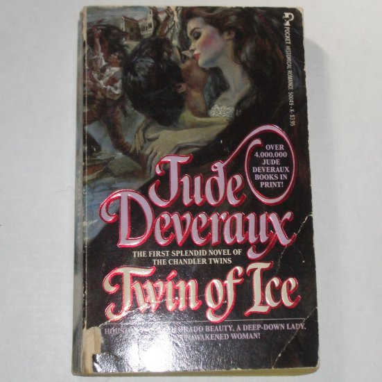 Twin of Ice by Jude Deveraux Taggart Chandler Twins Series 1985
