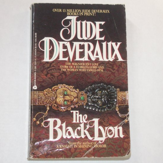 The Black Lyon by Jude Deveraux Medieval Romance 1980 Montgomerys Series Top Pick