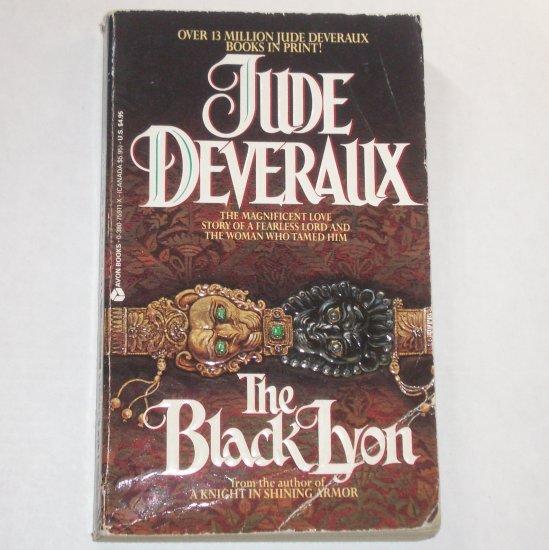 The Black Lyon by Jude Deveraux Medieval Romance 1980 Montgomerys Series Top Pick