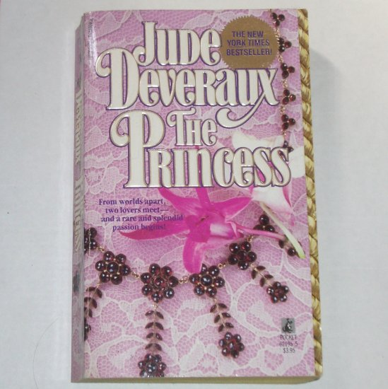 The Princess by Jude Deveraux Historical Romance 1987 Montgomerys / Taggart Series