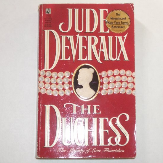 The Duchess by JUDE DEVERAUX Historical Scottish Romance 1991 Montgomerys Taggart Series