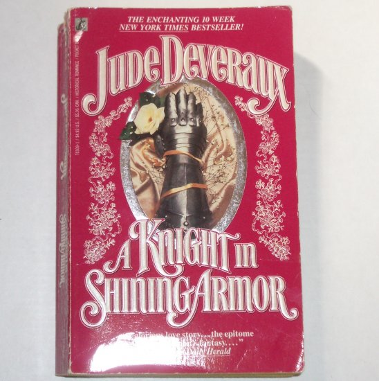 A Knight in Shining Armor Jude Deveraux Medieval Time Travel Romance 1998 Montgomerys Taggert Series