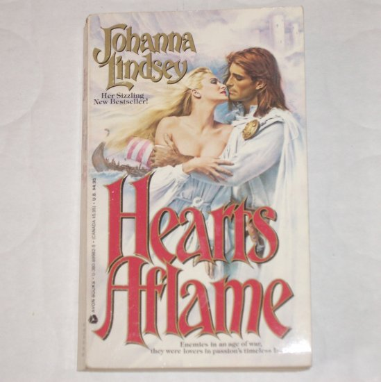 Hearts Aflame by JOHANNA LINDSEY Viking Series Romance 1987