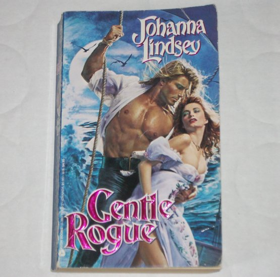 Gentle Rogue by Johanna Lindsey Historical Pirate Romance 1990 Malory Series