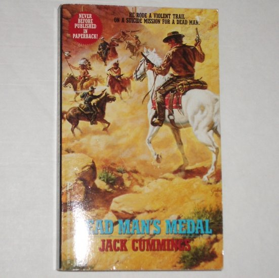Dead Man's Medal by JACK CUMMINGS Western 1992