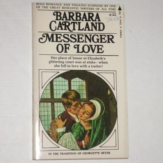 Messenger of Love by BARBARA CARTLAND Historical Romance 1971