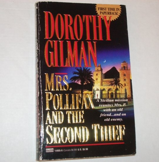 Mrs. Pollifax and the Second Thief by DOROTHY GILMAN Cozy Mystery 1995