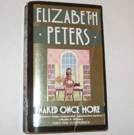 Naked Once More by ELIZABETH PETERS 1990