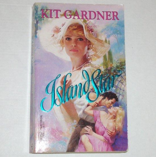 Island Star by KIT GARDNER Harlequin Historical Victorian Romance 1994