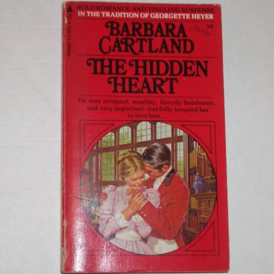The Hidden Heart by BARBARA CARTLAND Historical Regency Romance 1970