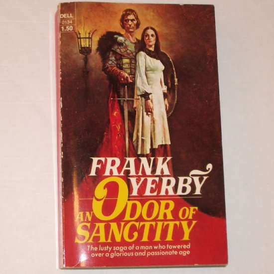 An Odor of Sanctity by FRANK YERBY Historical Fiction 1973