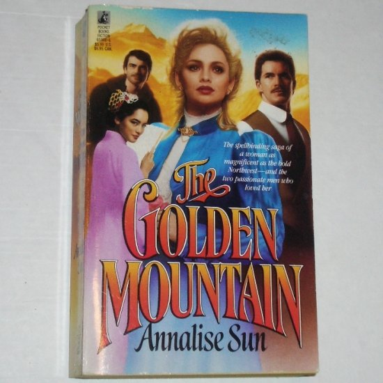 The Golden Mountain by ANNALISE SUN Historical Western Romance 1990