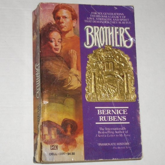 "Brothers by BERNICE RUBENS ""Stunning monumental work on Jewish history."" 1985"