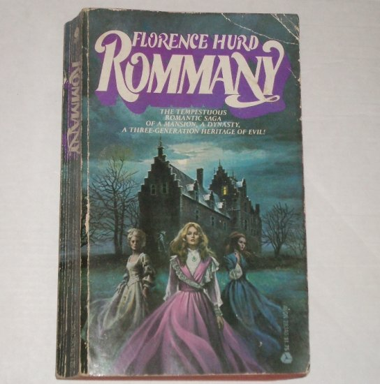 Rommany by FLORENCE HURD Historical Gothic Romance 1976