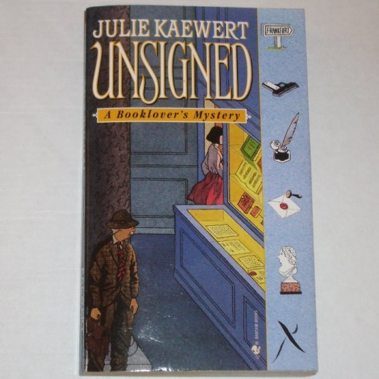 Unsigned by JULIE KAEWERT A Booklover's Mystery 2001