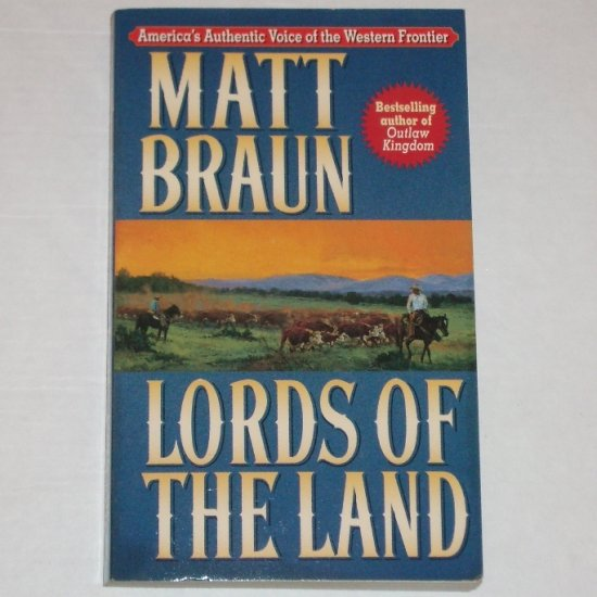 Lords of the Land by MATT BRAUN Western 1996