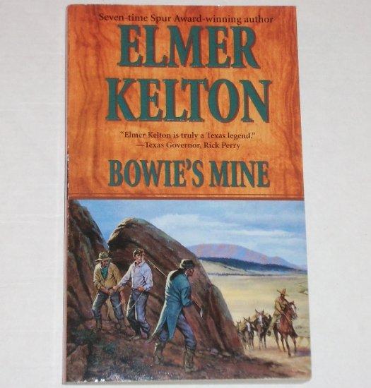 Bowie's Mine by ELMER KELTON Western 2002