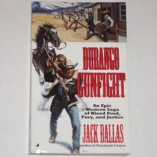 Durango Gunfight by JACK BALLAS Western 1992