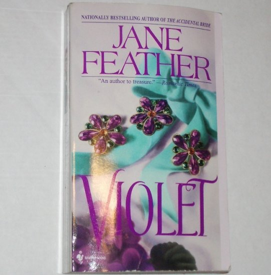 Violet by JANE FEATHER Historical Romance 1995