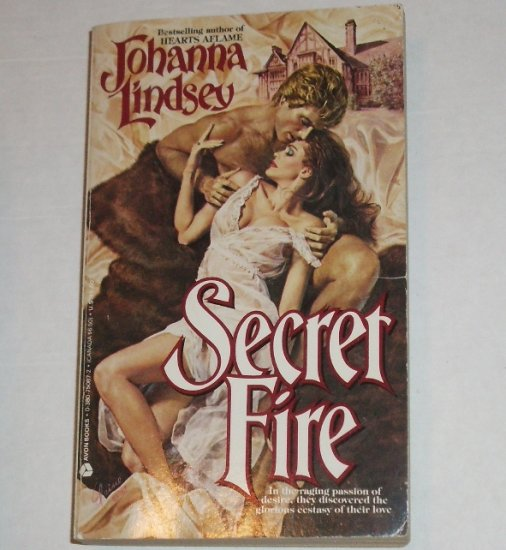 Secret Fire by JOHANNA LINDSEY Historical Romance 1987